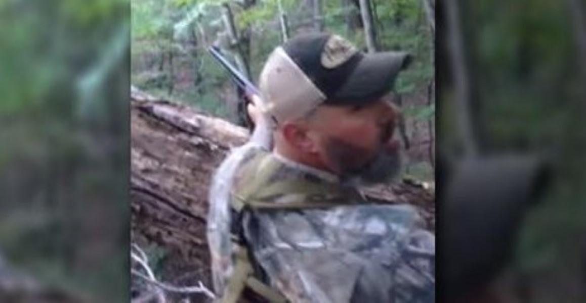 Trigger Happy Hunter Douchebag Shoots Baby Bear Then Gets