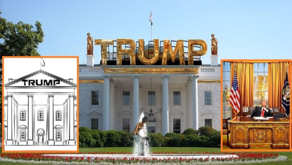 Did Trump Redecorate The White House Trump White House